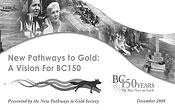 New Pathways To Gold Society Presentation Package